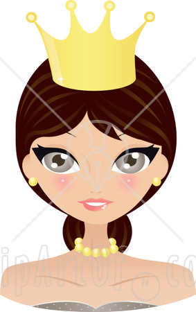 princess crown clipart. Full-color princess crowns