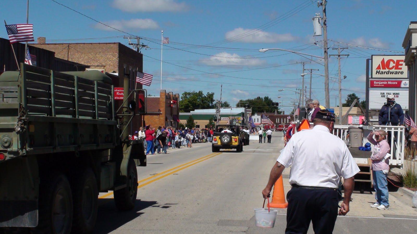 Illinois will county manhattan - The Manhattan American Legion Post 935 Leads Off The Manhattan Fun Days Parade