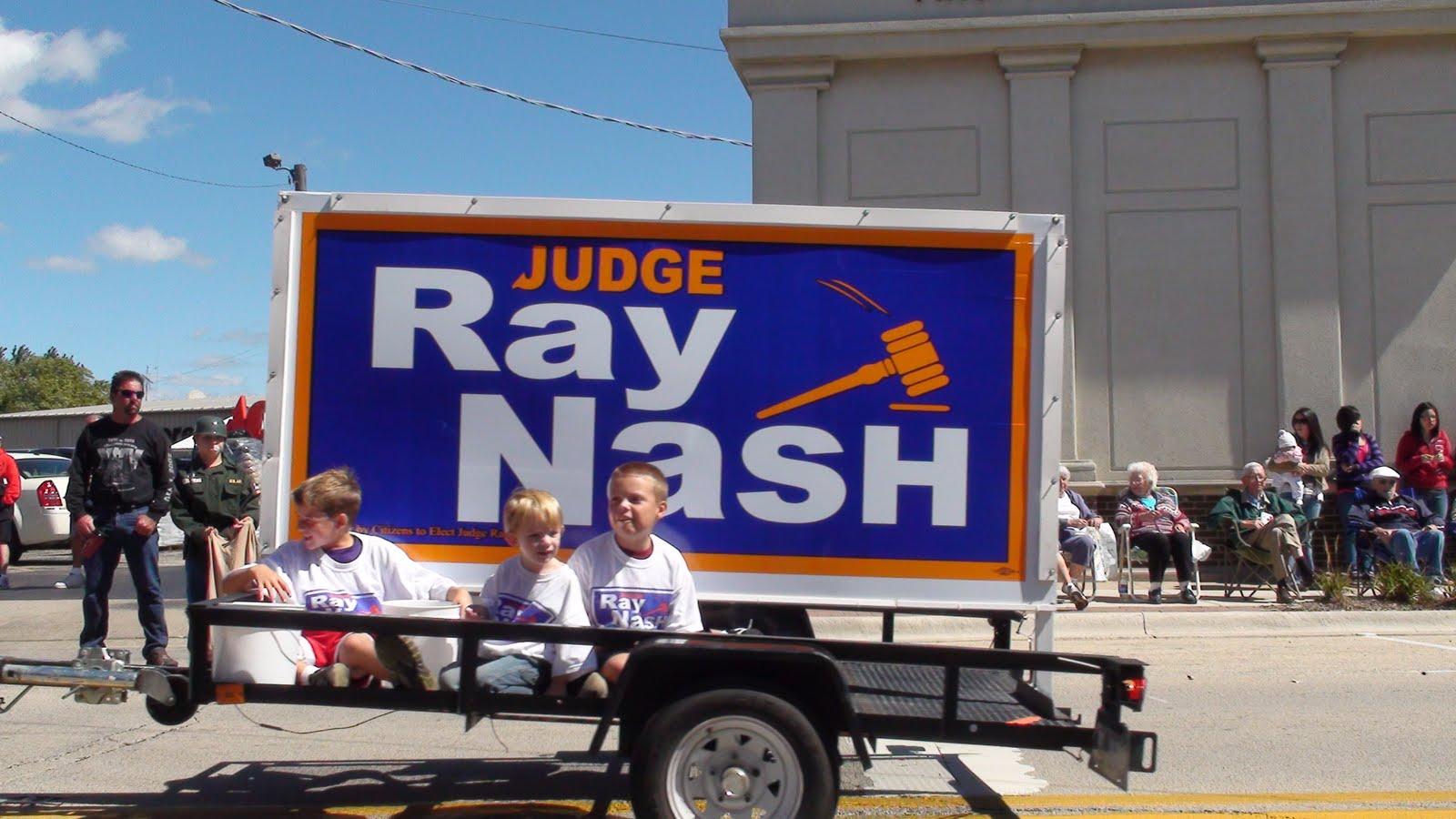 Illinois will county manhattan - Ray Nash For Judge Entry At The Manhattan Illinois Fun Days Parade