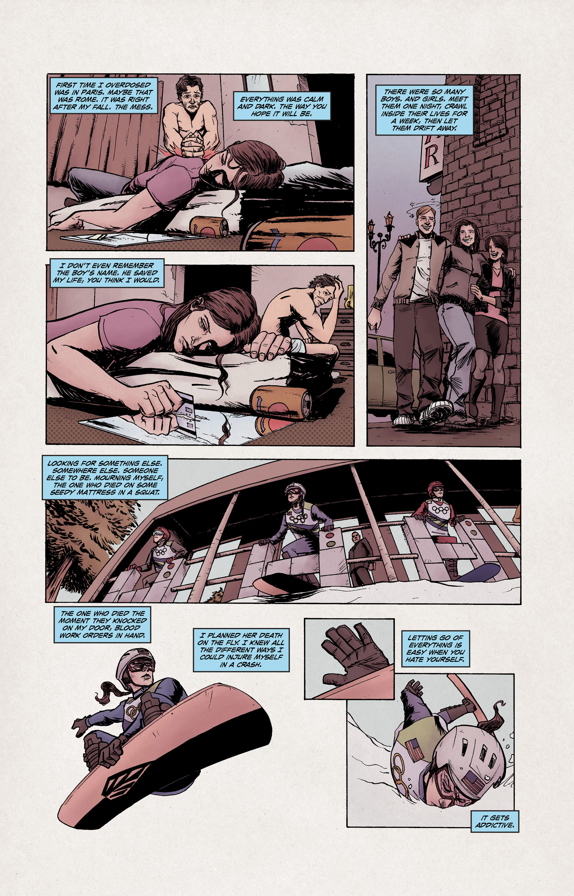 Read online High Crimes comic -  Issue #10 - 4