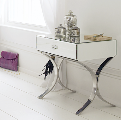 Antique Bedside Tables on Mirror Bedside Table By Graham   Green