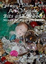 Bits and Bobbles Mixed Media Craft Swap