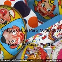 Vintage Circus Party Swap