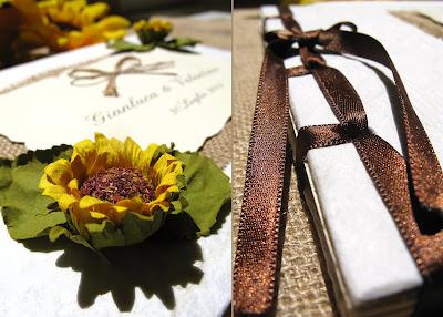Guestbook Matrimonio Girasoli : Avere una lunga storia girasole wedding set di guestbook unità set