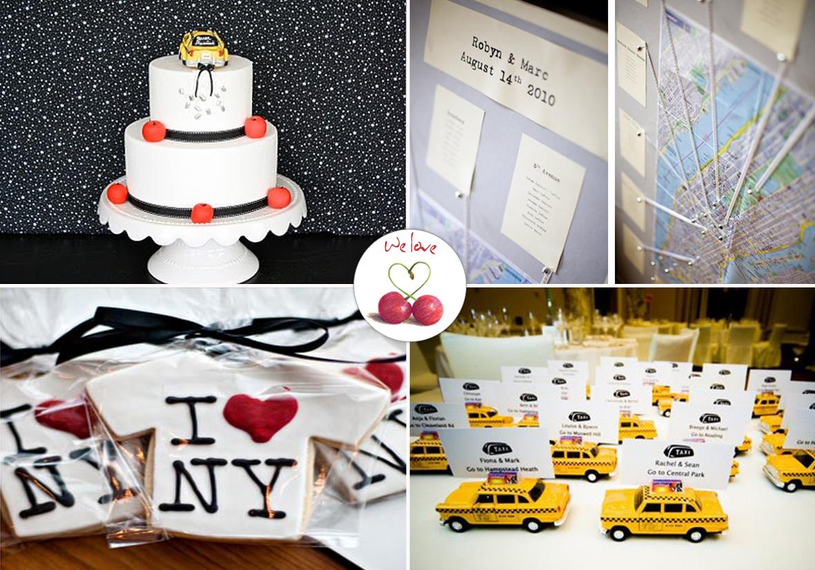 segnaposto matrimonio new york