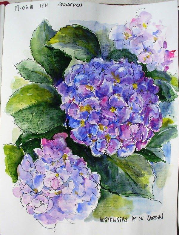 Dibujo de oler flor - Imagui