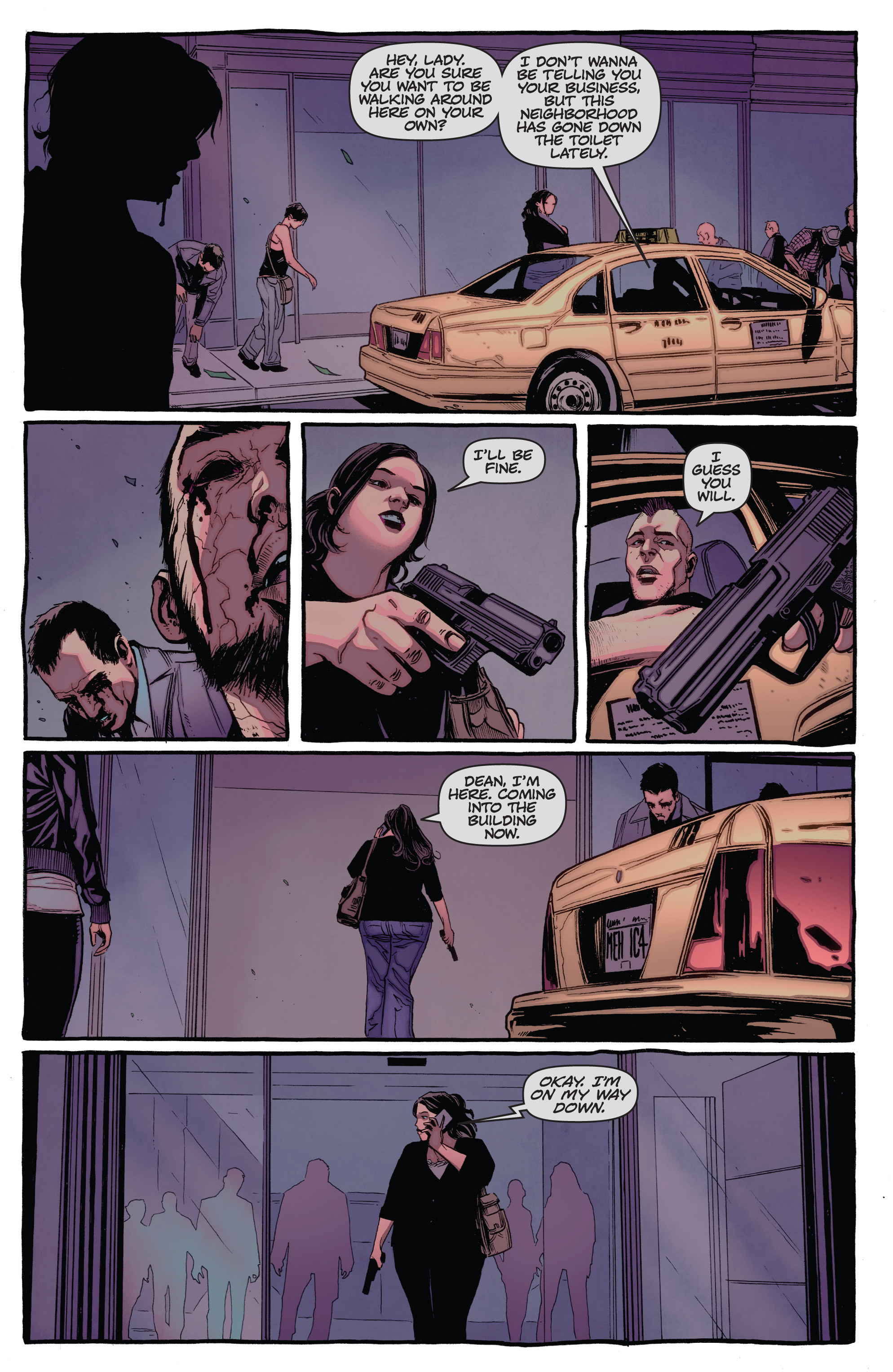 Read online The Darkness (2007) comic -  Issue #115 - 21