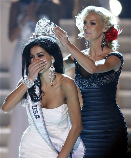Arab-American from Michigan crowned 2010 Miss USA.Miss Michigan, Rima Fakih, ...