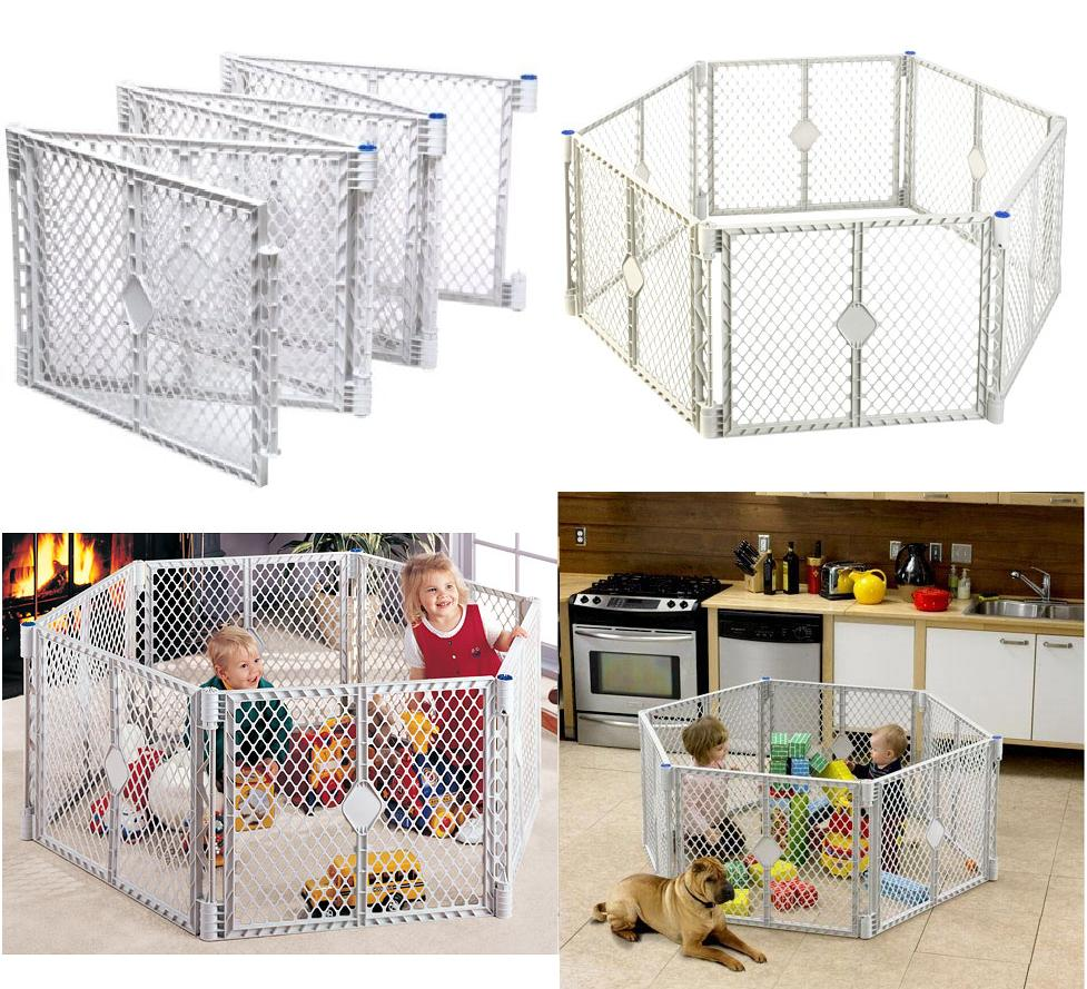 (SOLD OUT) North State Industries: Superyard XT Portable Playard U0026 Gate