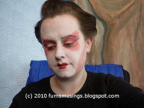 memoirs of geisha makeup. memoirs of geisha makeup. Geisha Make Up Tutorial