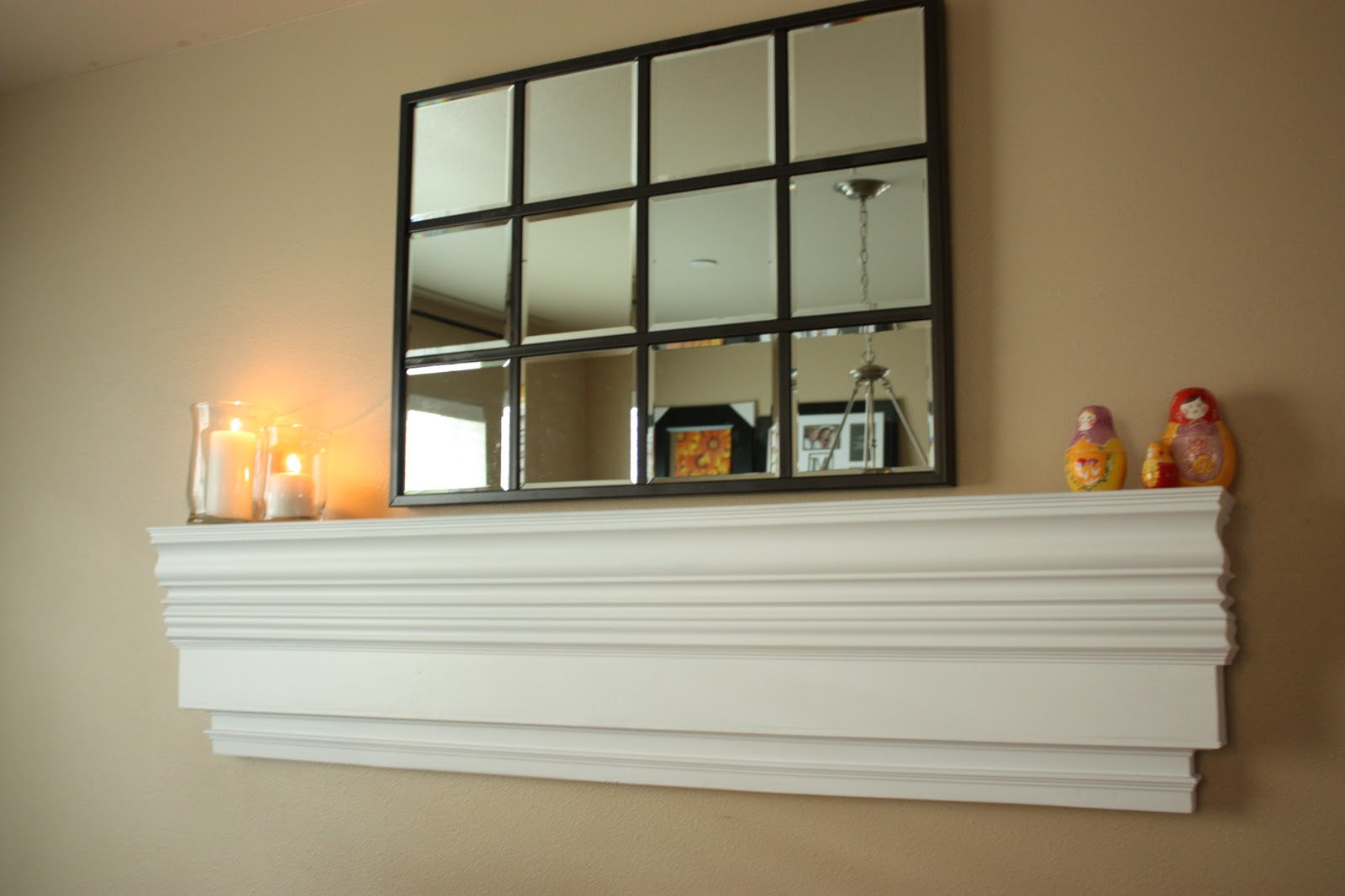 Fake Mantle Inspired By Pottery Barn Quot Decorative Ledge