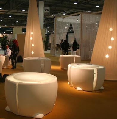 plastic outdoor furniture.