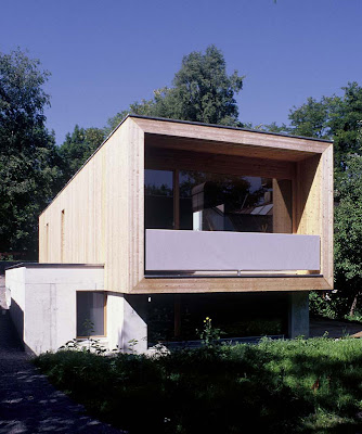 Moosmann House by Hermann Kaufmann