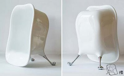 The Baek SeaTub Chair by Ki Kim