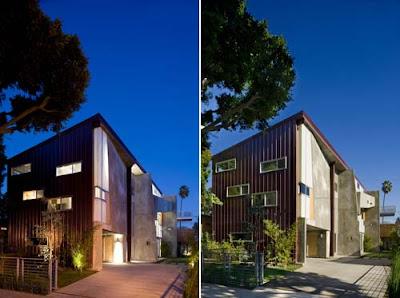 briard sander residence facade