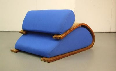 The der Schlitten Toboggan Chair by Phillip Grass