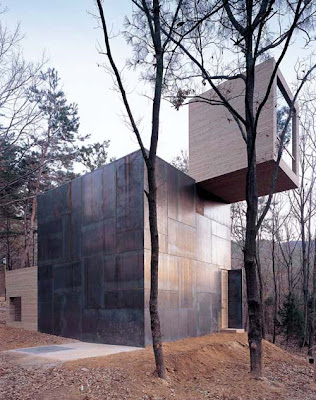 Wooden and Steel Homes Idea