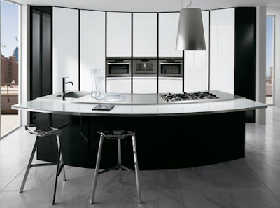 Curved Kitchen Designs