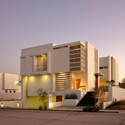 designed with very modern and attractive design this modern concrete house design is located in zapopan jalisco mexico and was designed by agraz - Russian House Design
