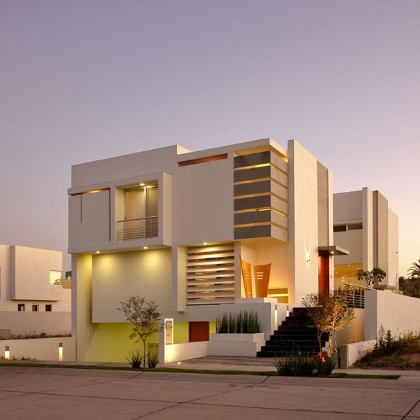 very attractive nu home design.  Russian House Attractive and Modern design by Agraz Arquitectos