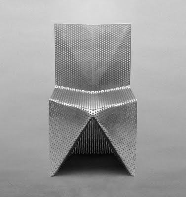 Aluminium Chair by Tobias Labarque