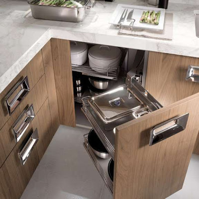 Korean house italian kitchens furniture barrique bleached for Bleached wood kitchen cabinets