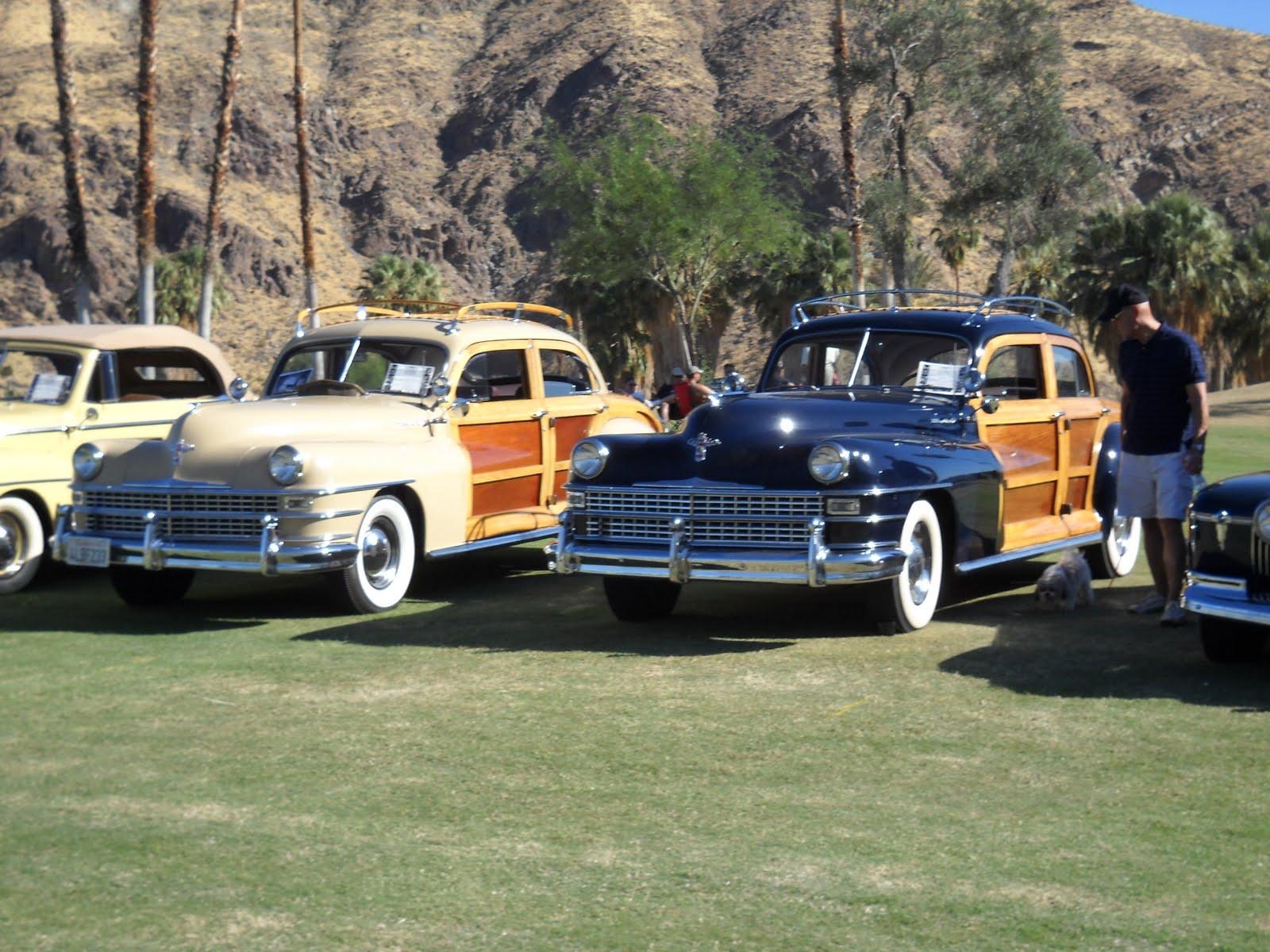 Palm Springs Automobilist Casual Concours - Palm springs classic car show