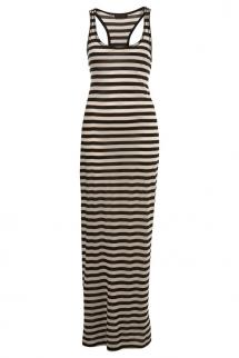 Black  White Maxi Dress on 590336 Black Black White Stripe Maxi Dress 1 Jpg