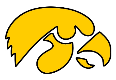 Rate this Iowa Hawkeyes Logo