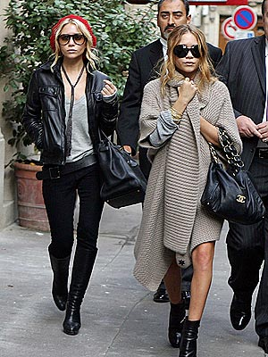 I think alot of the stuff the Olsen Twins are wearing these days is amazing