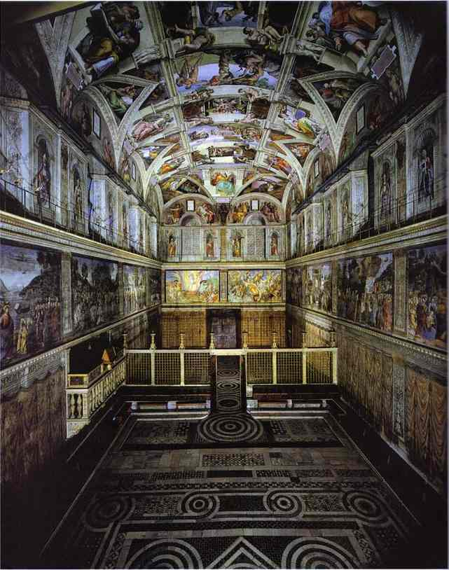 Historia capilla sixtina - Arquitectura miguel angel ...