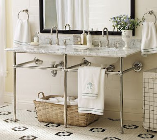 practical living bathroom vanities. Black Bedroom Furniture Sets. Home Design Ideas