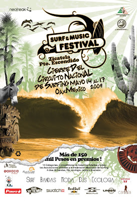surf music festivla pto escondido oaxaca