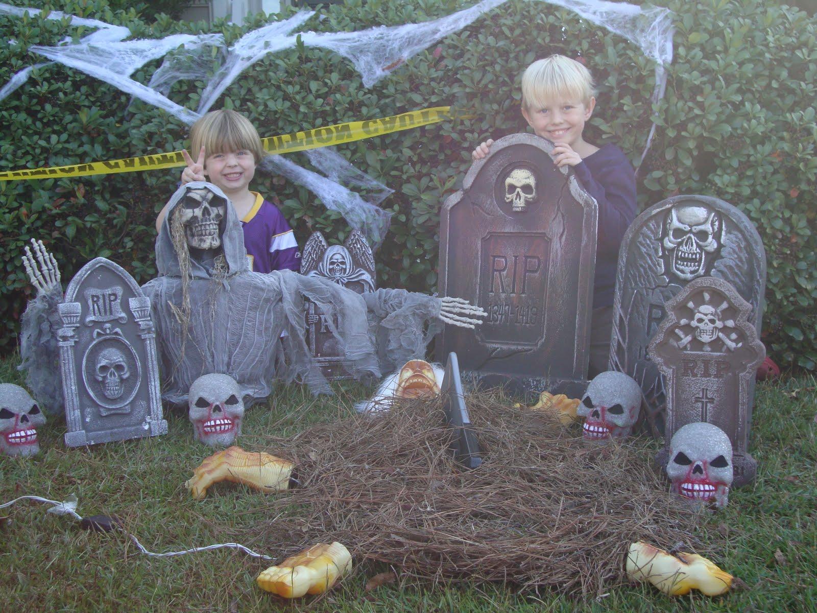 Halloween Tombstone Decorations