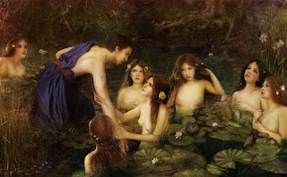 The Nymphs by Ginger Kelly