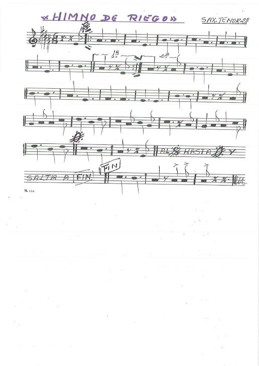 Saxo tenor 2º