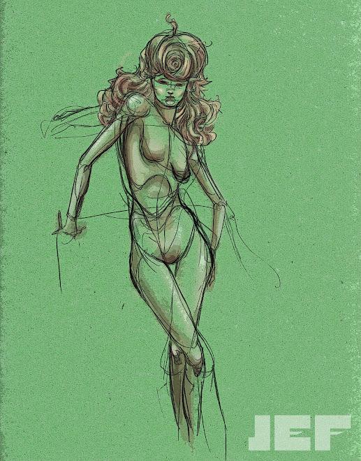 garota verde