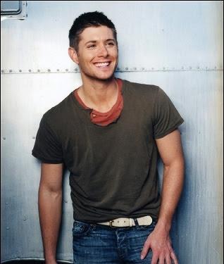 Handsome hunk Jensen Ackles