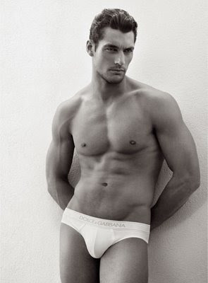 David Gandy British male model