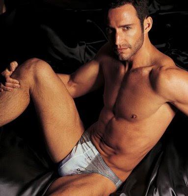Spanish Model Alberto Guzman