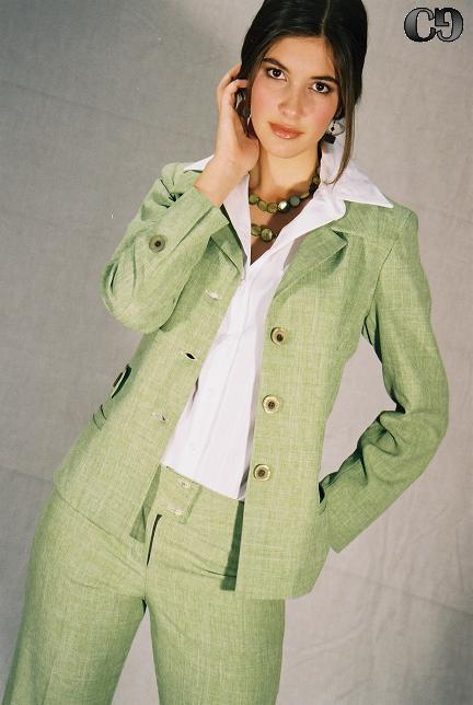 Abrigos para dama verdes