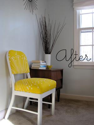 Sutton Grace: office chair make-