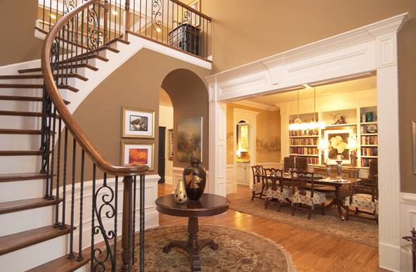Decoration Entrance Stairs Flooring