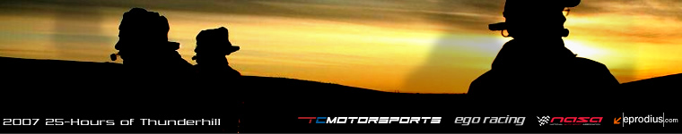 2007 25 Hours of Thunderhill - TC Motorsports/EGO Racing