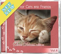 Cd Music for Cats and Friends. Música de relaxamento para gatos