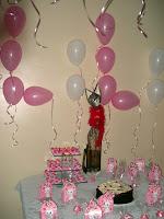 Sala decorada para o aniversário da Gata Lili