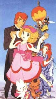 Personagens do desenho animado Honey Honey