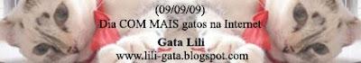 Banner do Dia com mais gatos na Internet: 09/09/09