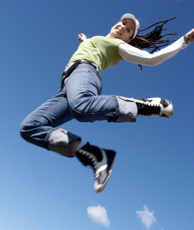 quotes for jumping pictures. personality development quotes