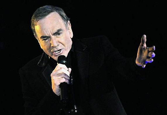 NEIL DIAMOND in MUSIC HALL of Fame